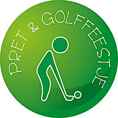 Button pret en golf feestje